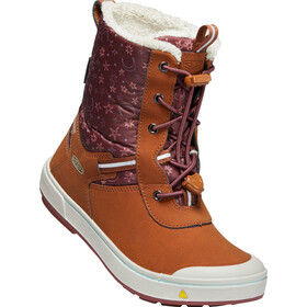 Keen Kelsa Tall WP Stiefel Kinder caramel cafe/harbor gray